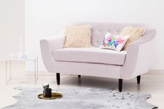 Canapea 2 locuri Laurel Light Lavender #homedecor #inspiration #interiordesign #homedesign Love Seat, Lavender, Pastel, House Design, Couch, Interior Design, Inspiration, Furniture, Home Decor