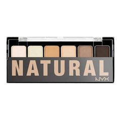 nice NYX Cosmetics The Natural Shadow Palette, 0.21 Ounce