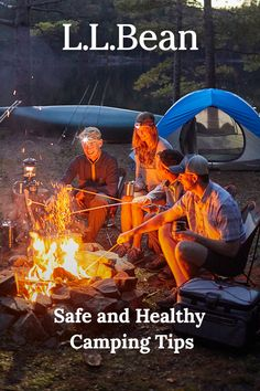Health concerns about camping this summer? Keep your campsite clean and your campers healthy with our safety tips. Safety Tips, Ll Bean, Outdoor Fun, Campsite, Camping Hacks, Campers, Outdoors, Healthy, Summer
