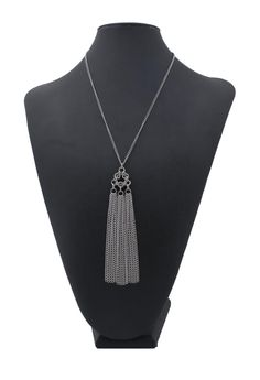 Chainmaille tassel necklace from Couture Armour.