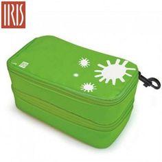 Iris Lunch Box sandwich Double vert 21 x 11 x 10 cm