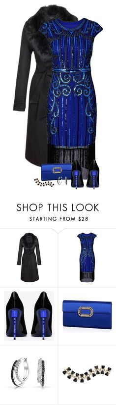 """Twila"" by dkelley-0711 ❤ liked on Polyvore featuring Sentaler, Yves Saint Laurent, Roger Vivier, Bling Jewelry, vintage, girlpower, rogervivier, powerlook, gamiss and sentaler"