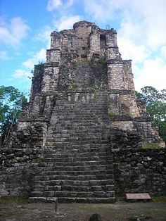 temple ruins in Mexico