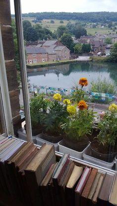 earlgreyandscones: View from Scarthin Books, Cromford
