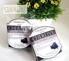 Cherlive สบู่ชาร์โคล ช้วยดีท๊อกผิว ดูดซับสิ่งสกปรกตกค้าง ต่อต้านแบคทีเรีย ลดปัญหาสิวอุดตัน ลดกลิ่นกาย กลิ่นหอม สะอาด สดชื่น Charcoal Soap, Beauty, Cosmetology