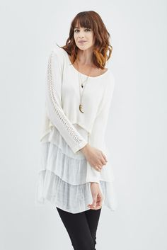 Trendology: Prancing Imaginations Tunic in White