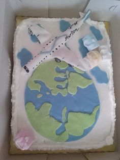 Travellers birthday cake