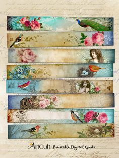 Mushroom Crafts, Palette Art, Bookmark Craft, Frame Crafts, Decoupage Paper, Art File, Arts And Crafts Projects, Craft Items, Bookmarks
