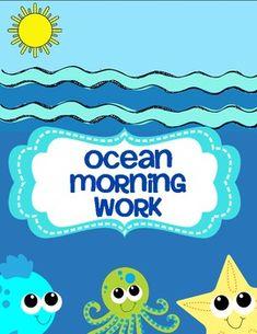 Ocean Morning Work (Common Core Aligned)  $