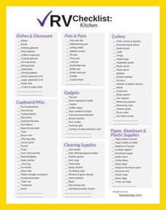 Camping Checklist - Camping Checklist - Don\'t Leave Home Without the Right Camping Gear ** Click on the image for additional details. #CampingOrganization