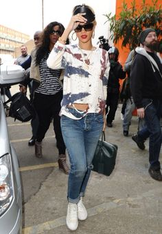Rihanna's Edgy Street Style ♔Life, likes and style of Creole-Belle ♥