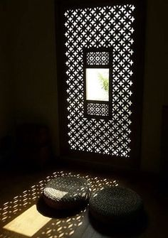 middle eastern carved window screen