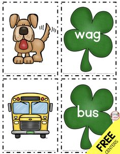 FREE March CVC Words for Reading and Writing Center – Leprechaun and St. Patric… FREE March CVC Words for Reading and Writing Center – Leprechaun and St. Patrick's Day freebie Kindergarten worksheets – Math and Literacy Centers for Saint Patty's Day Kindergarten Language Arts, Kindergarten Math Worksheets, Kindergarten Centers, Kindergarten Writing, Kindergarten Activities, Literacy Centers, Reading Centers, St Patrick Day Activities, Cvc Words