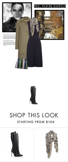 """13.10.2016"" by bliznec-anna ❤ liked on Polyvore featuring Victoria Beckham, Alexandre Birman and Leigh & Luca"