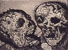 Des morts devant la position de Tahure