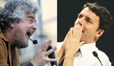 #Politica, #Renzi ottimista, #Grillo ennesima caduta di forma (e sostanza)