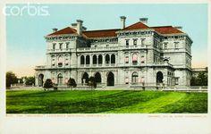 "The Breakers | Cornelius Vanderbilt summer ""cottage,"" Newport, RI."