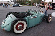 Rat Rod Pickup, Vw Rat Rod, Rat Rods, Custom Vw Bug, Custom Cars, Hot Vw, Vw Cars, Motor Vehicle, Motor Car