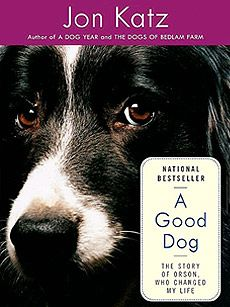 A Good Dog - Jon Katz - Bedlam Farm. All of these books are great, but read A Good Dog first. Really like the narrator on the recorded books - Tom Stechschulte.