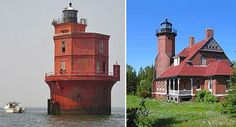 I'd live in a lighthouse as long as it wasn't haunted like St. Augustine :)