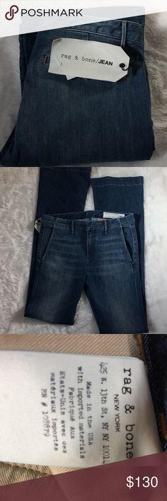 NWT rag & bone jeans NWT •cut #13735 •69% cotton 28% polyester 2% polyurethane •inseam •approx 34 •ask questions prior to purchasing rag & bone Jeans