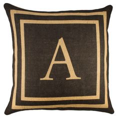 Personalized Sandy Pillow