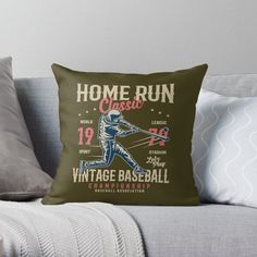 Vintage Baseball Pillows & Cushions   Redbubble Cleveland Indians Logo, Cleveland Baseball, Daybed Pillows, Cushions, San Diego Basketball, Baseball First, Indians Baseball, Vintage, Throw Pillows