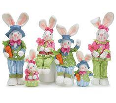 Easter Bunny Rabbit Family of 6 Adorable Easter Decor Burton & Burton,http://www.amazon.com/dp/B00IVSLTJ4/ref=cm_sw_r_pi_dp_cltrtb1M84M0TT77
