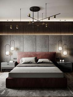 Modern Luxury Bedroom, Master Bedroom Interior, Luxury Bedroom Design, Modern Master Bedroom, Bedroom Furniture Design, Home Room Design, Master Bedroom Design, Luxurious Bedrooms, Home Bedroom