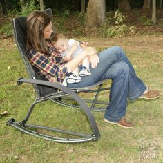 Rocker-N-A-Bag I need this to rock my new grandson this summer while we camp!