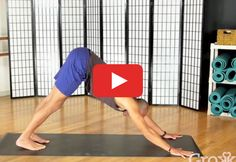Namaste #yoga #workout http://greatist.com/move/yoga-strong-core