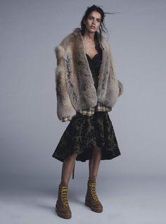 Amanda Wellsh by Benny Horne for Vogue Australia September 2015