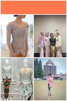 Kebaya Modern Hijab, Kebaya Hijab, Kebaya Muslim, Kebaya Lace, Batik Kebaya, Kebaya Dress, Dress Brokat, Prom Dresses, Wedding Dresses