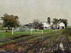 ....amish house...