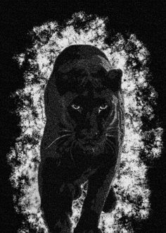PANTHER STIPPLE EFFECT