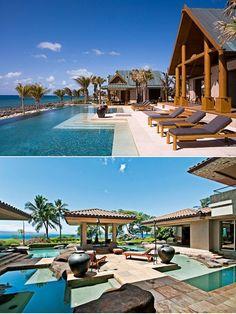 roaring pavillion villa in jamaica. hello honeymoon?