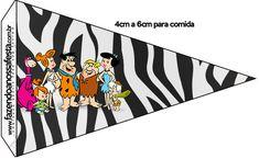 Bandeirinha Sanduiche Flintstones: