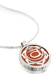 MY iMenso | The official webstore Inspirations Grande(33 mm) - Grande Medallions (33mm) - Inspirations - Chakra - Orange - Gemstone