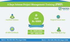 Exclusive training for PMP from Industry Experts. Batches starting from 9th August with http://practical-methods.com/training-program/pmp-capm #pmptraining #pmpcertification