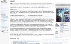 Cool! A wiki editor tweaked 4INFO's Spanish Wikipedia page https://es.wikipedia.org/wiki/4INFO
