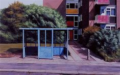 'Bus Stop at the Top' (2003): George Shaw's 'I Woz Ere' at the Herbert Gallery, Coventry