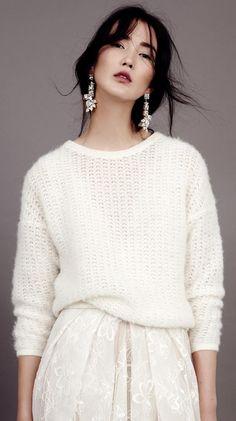 kaviar gauche`s modern wink to bridal fashion