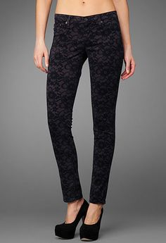 The Legging - Lace Conrad by AG Jeans. Only 3 left in Portsmouth!