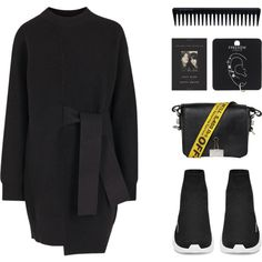 SWEET LIES by arditach on Polyvore featuring polyvore, fashion, style, Proenza Schouler, Off-White, Topshop, GHD and clothing