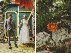 anna & brandon | land of oz - beech mountain wedding