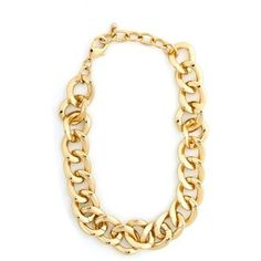 Plus Size Gold Chain Link Necklace | Fashion To Figure