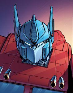 Optimus Prime by J-Skipper on deviantART