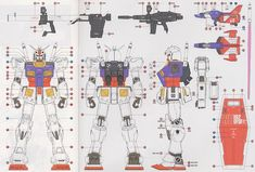 RX-78-2 Gundam Ver.Ka (MG) (Gundam Model Kits) Color2