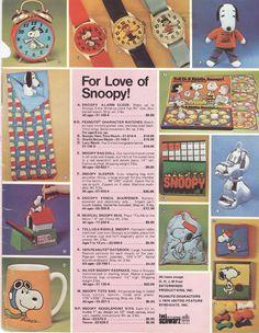 fao schwarz #toy #catalogue #1974 #Snoppy
