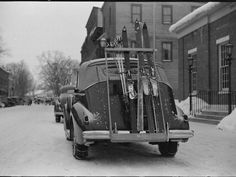 Photos From The Early Days Of Resort Skiing - All Day 1938 Vermont